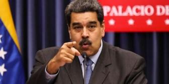 El enojo de Nicolás Maduro con un periodista al ser consultado sobre la detención de dos bomberos que lo compararon con un burro