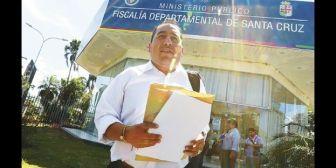 Un diputado de La Paz se atrevió y presentó acusación contra alcalde cruceño por 3 cargos en el caso MAHS