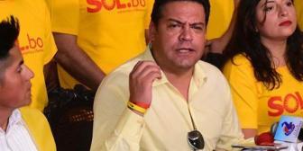 """TSE niega personería jurídica nacional a Sol.bo y Revilla denuncia """"chicana"""" para proteger al MAS"""