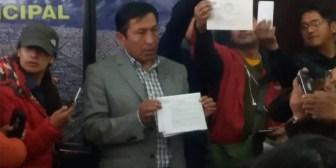 Presidente del Concejo de El Alto con sentencia por narcotráfico retorna al curul