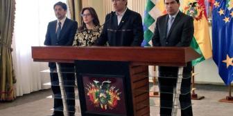 Cancillería boliviana reestructurará el equipo y estrategia con el fallo de La Haya