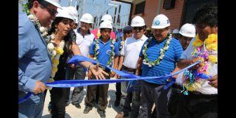 En San Julián hubo fiesta por la nueva subestación de energía eléctrica