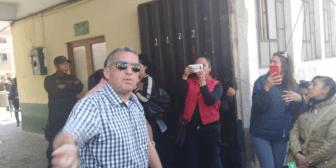 Cardozo revela que entregó el audio del caso Alexander en la FELCC