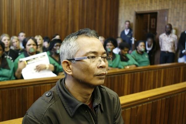 En 2011 Chumlongfue condenado a 40 años de cárcel, pero salió en libertad(Te New York Times/Julian Rademeyer)