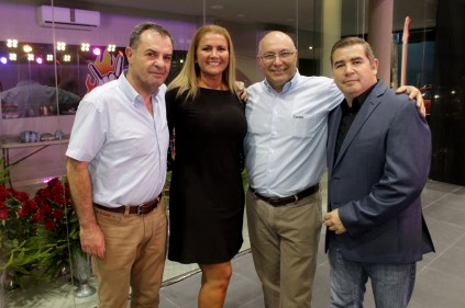 Jose Rodríguez, María Inés Carrasco, Gabriel Dávalos y Luis Yañez