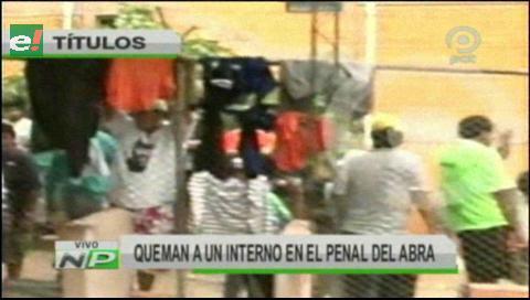 Video titulares de noticias de TV – Bolivia, mediodía del sábado 8 de septiembre de 2018