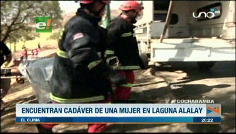 Cochabamba: Encuentran cadáver de mujer en la laguna Alalay