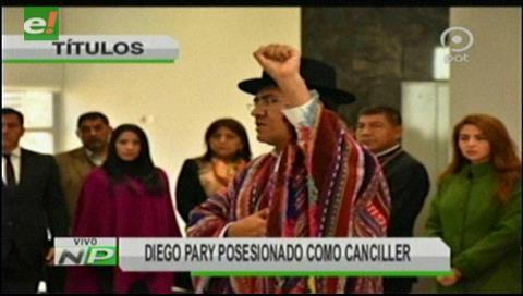 Video titulares de noticias de TV – Bolivia, mediodía del martes 4 de septiembre de 2018