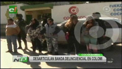Caen delincuentes que robaron Bs 8.937 en Cochabamba y recuperan el botín