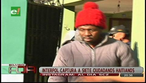 Interpol detuvo a siete ciudadanos haitianos