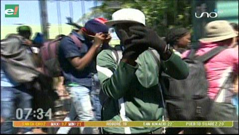 Interpol intercepta dos flotas con 55 haitianos