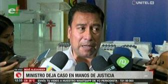 Ministro de Salud deja en manos de la justicia el caso Alexander