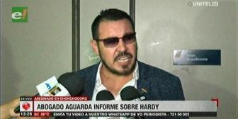 Defensa de Hardy Gómez culpa a autoridades por no cumplir plazos para su traslado a Palmasola