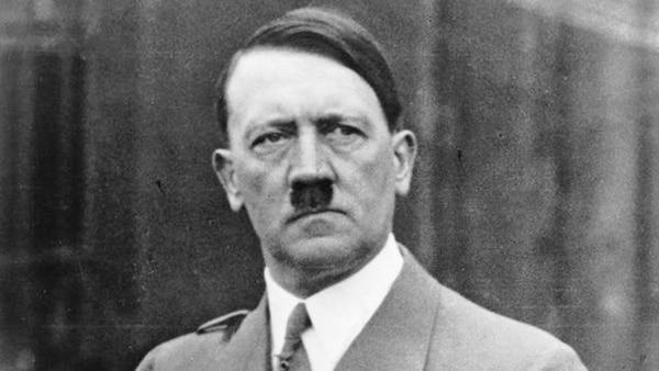Adolf Hitler líder de la Alemania nazi entre 1933 y 1945
