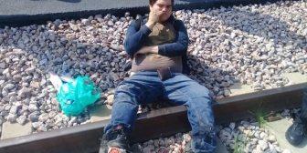 """México: un joven quería una """"selfie"""" montado en un vagón de tren y terminó sin pies"""