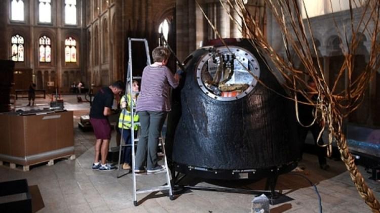 De diseño soviético, las confiables Soyuz son el principal vehículo del que dispone hoy día la humanidad para llegar al espacio (Getty)