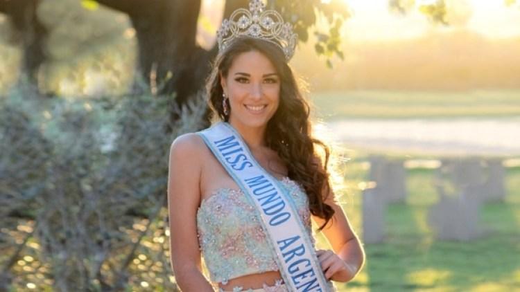 Victoria Soto, la argentina que representará al país en Miss Mundo 2018 en China durante el mes de noviembre