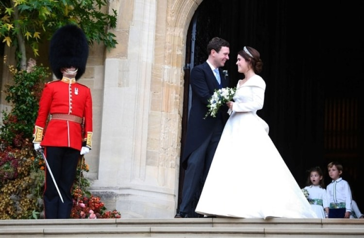 Recién casados, Eugenie y Jack brooksbank