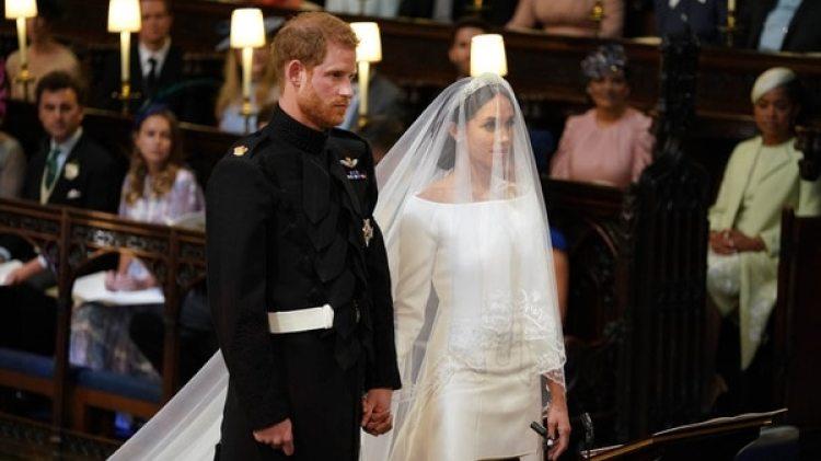 Boda del príncipe Harry y Meghan Markle (AFP)