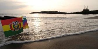 Canciller Pary: 'tarde o temprano' Chile tendrá que sentarse con Bolivia a resolver la demanda marítima