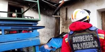 Anciana causa incendio en la zona del mercado Uyustus