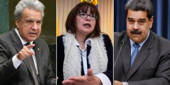 Ecuador expulsa a embajadora de Venezuela por ofensas de su gobierno contra presidente Moreno