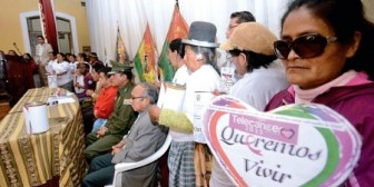 Denuncian que dinero del Telecáncer está en una cuenta de 3 servidores de la Gobernación de La Paz