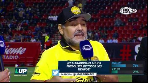 """Maradona: """"No endiosemos más a Messi"""""""