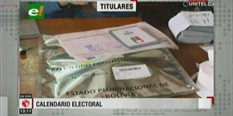 Video titulares de noticias de TV – Bolivia, mediodía del lunes 15 de octubre de 2018
