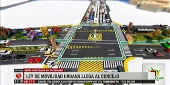 Presentan proyecto de Movilidad Urbana para Santa Cruz