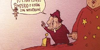 Caricaturas de Bolivia del viernes 12 de octubre de 2018