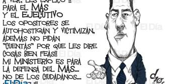 Caricaturas de Bolivia del miércoles 17 de octubre de 2018