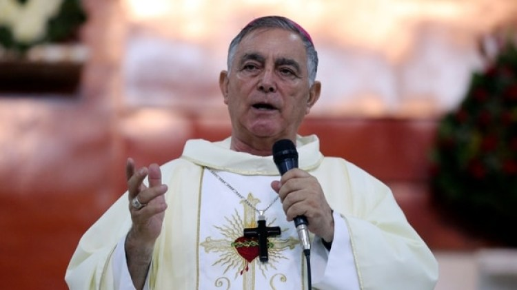 El obispo Salvador Rangel durante un acto en Chilpancingo, Guerrero.(Foto: Reuters)