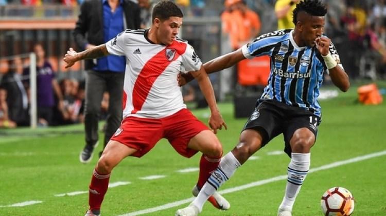 Juanfer Quintero ha sido uno de los más destacados de River Plate en la Copa Libertadores (AFP)