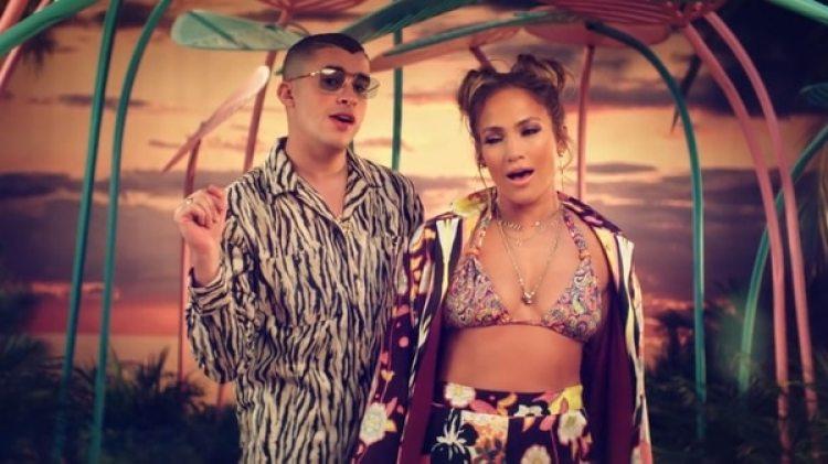 Jennifer Lopez y Bad Bunny lanzaron, Te Guste