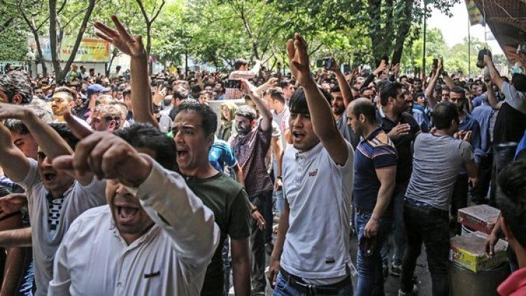 El régimen iraní reprimió las multitudinarias protestas que se produjeron en los últimos meses (AP)