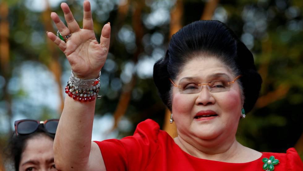 Imelda Marcos, condenada a 42 años de prisión