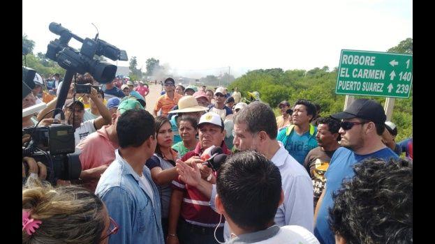 La Chiquitania da un ultimátum al Gobierno de Evo por Roboré, rechazan distribución de tierras en reserva forestal