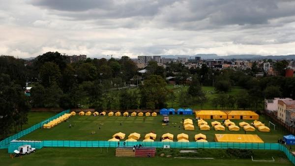 Colombia abre campamento para migrantes venezolanos