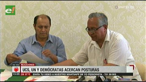 De confirmarse la alianza entre UCS, UN y Demócratas, habrá dispersión de voto