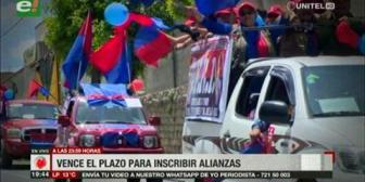 Video titulares de noticias de TV – Bolivia, noche del martes 13 de noviembre de 2018