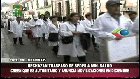 Médicos rechazan traspaso de los Sedes y advierten con movilizaciones