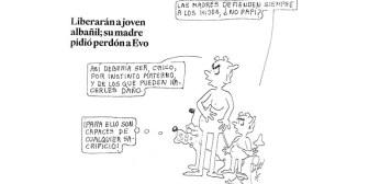Caricaturas de Bolivia del miércoles 14 de noviembre de 2018