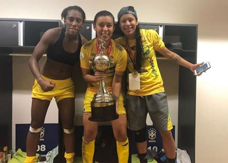 ¿Por qué Yoreli Rincón denunció que no recibirían nada tras ganar la Libertadores?