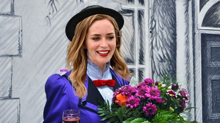 Emily Blunt es la nueva Mary Poppins en el cine