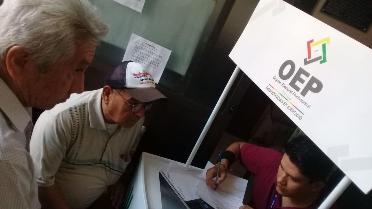 TED de Tarija emitirá más de 3.160 anulaciones a militancias políticas a la Fiscalía para su investigación