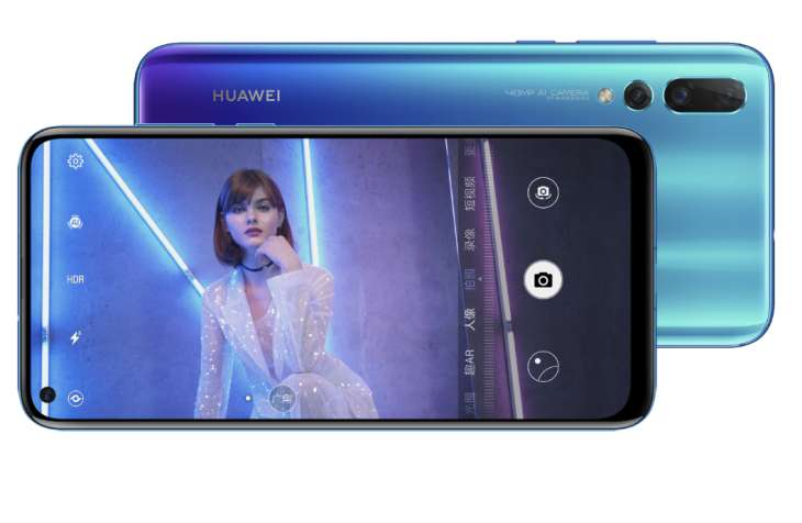 Huawei presenta su nuevo smartphone, el Nova 4 — Innovación