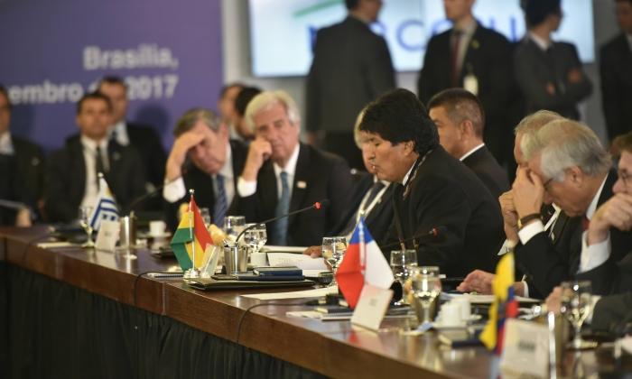 Inicia la Cumbre del Mercosur en Uruguay