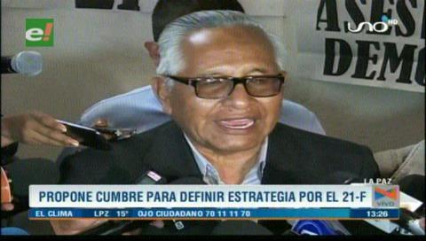 Oficialismo afirma que oposición busca desdibujar la institucionalidad del país
