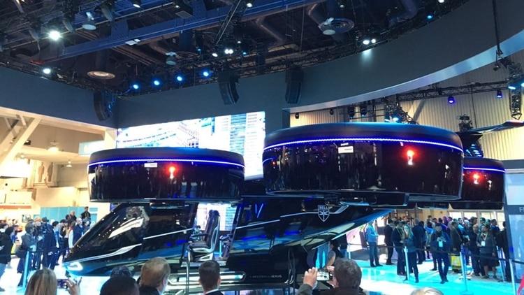 Uber pretende comenzar a utilizar estos aerotaxis en 2023